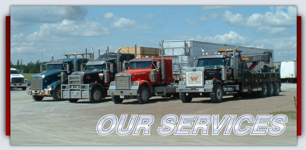 Our Services Line of Trucks